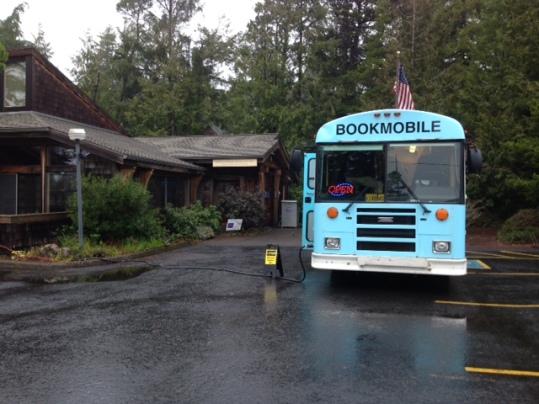 Bookmobile at North Tillamook Library