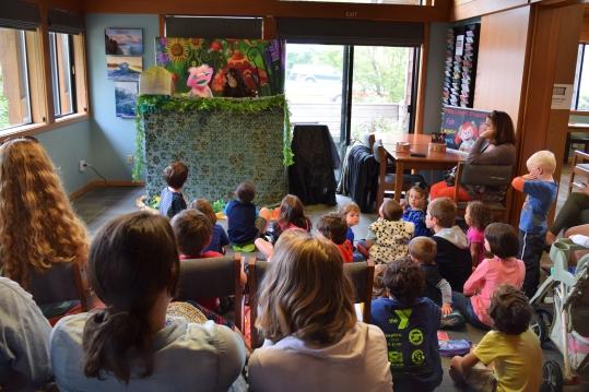 community celebration puppet show
