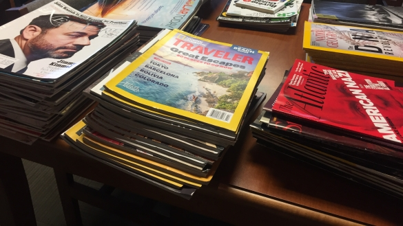 Monthly magazine sales offer variety and value. We accept your donations and appreciate your purchases.